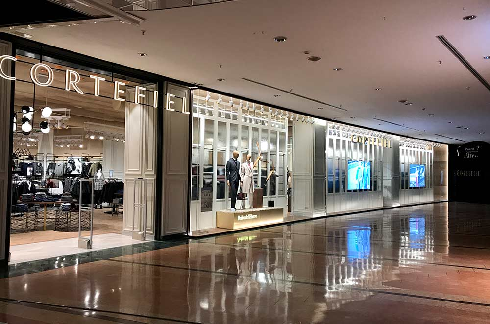 Cortefiel Brand continues its expansion with new opening in  Latin America, Middel East an North America
