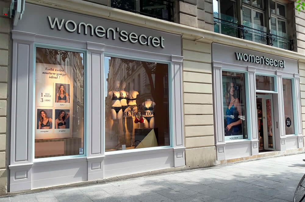 Women'secret opens a new store in Paris. The lingerie brand is growing in rue Montmartre