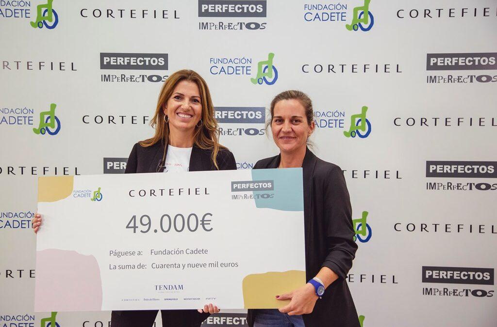 Cortefiel apoya a la Fundación Cadete con una donación al proyecto Perfectos Imperfectos