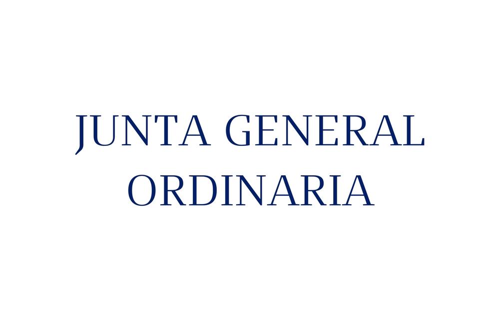 Junta General Ordinaria