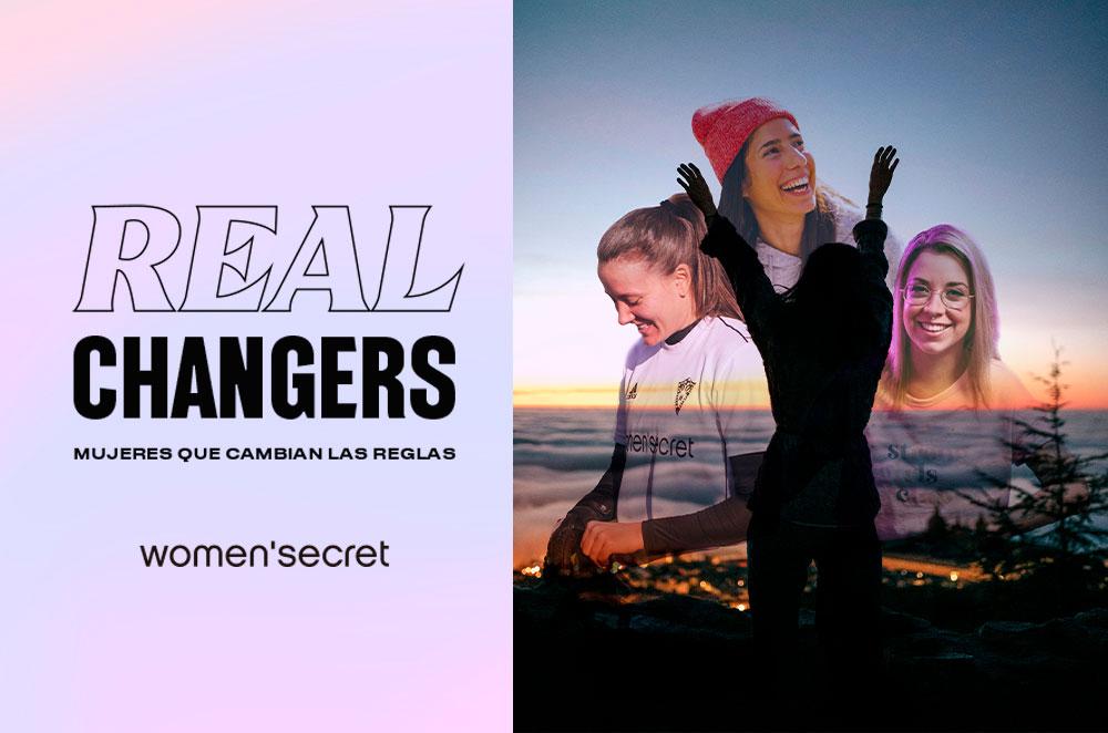Real Changers de Women'secret ofrece una beca para que una mujer pueda cumplir su sueño profesional