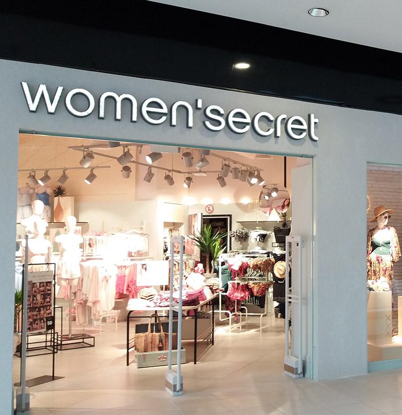 escaparate Women' Secret en su nacimiento