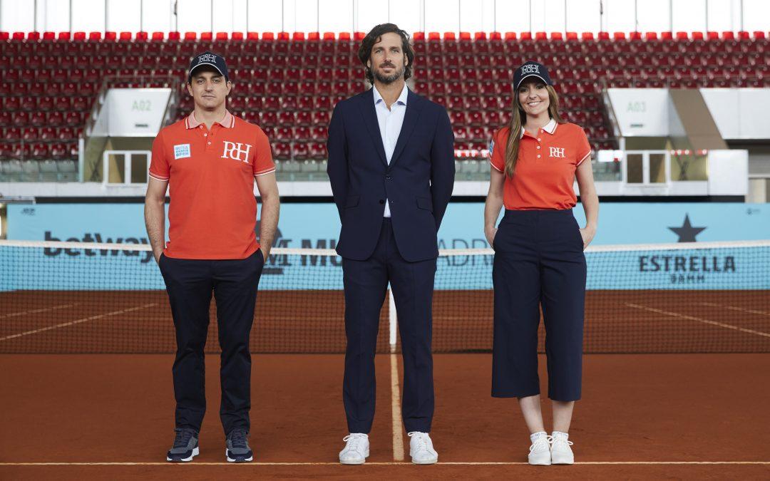 Pedro del Hierro, patrocinador oficial de Mutua Madrid Open, presenta la equipación de los jueces de línea