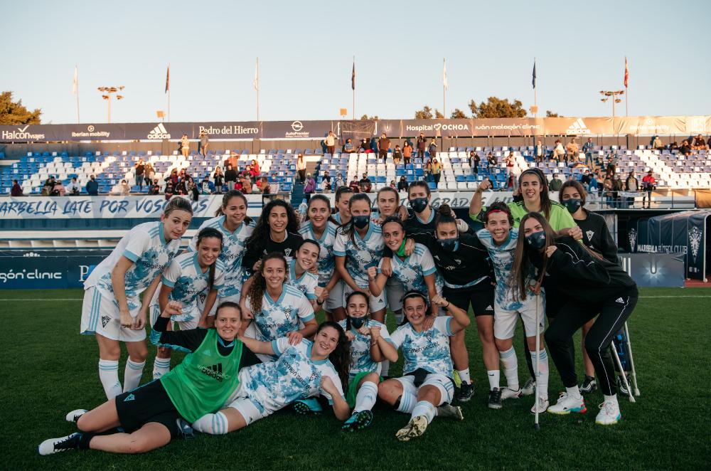 Women'secret un año más de patrocinador principal del equipo femenino del Marbella FC